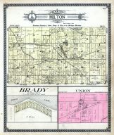 Milton Township, Brady, Union, Cass County 1914